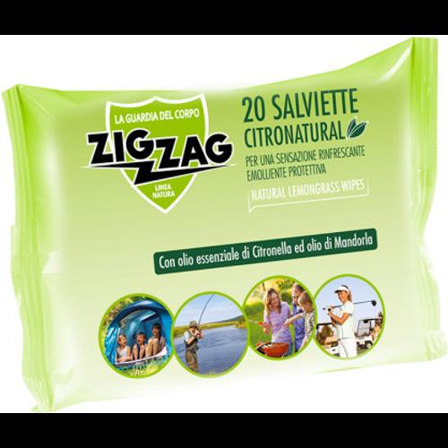 ZIG ZAG vlažne maramice protiv komaraca Citronatural 20kom slika 1