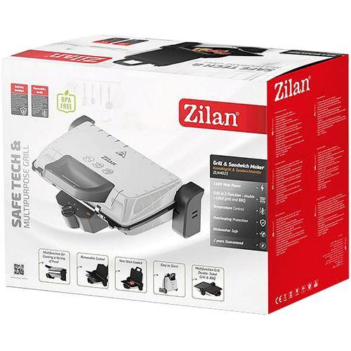 Zilan Grill kontaktni, 2u1, 1600 W, crna - ZLN4021 BK slika 4