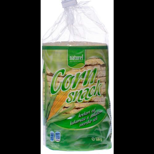 Naturel Corn Snack s morskom soli 120 g slika 1