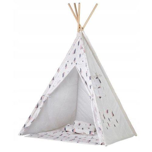Šator s podlogom Forest - Grey / Pink slika 1