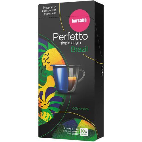 Barcaffe Perfetto nespresso  kapsule za kavu Brazil 55 g, 10 kapsula slika 1