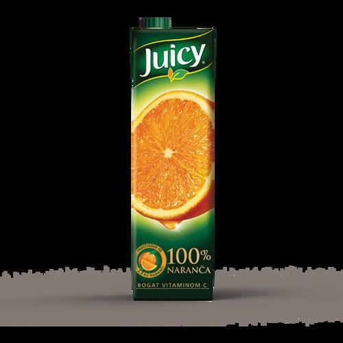 Juicy 100% naranča 1 l slika 1