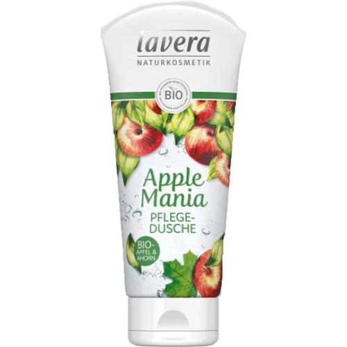 LAVERA Gel za tuširanje apple mania BIO 200ml slika 1