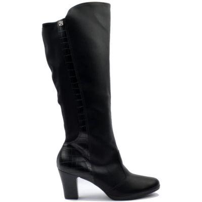 Piccadilly crne ženske čizme na visoku petu  Visoke pete daju osjećaj mode. Importirani latex amortizer apsorbira udarce i omogućuje bešumni hod u visokim petama, poboljšava raspodjelu težine duž cijelog stopala, te smanjuje bol koja se može javljati k...