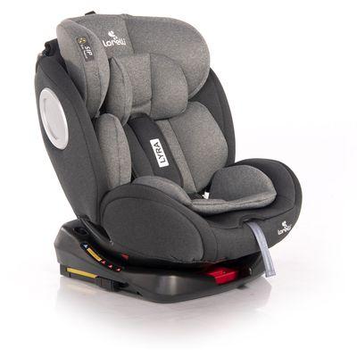 Autosjedalica koja raste s Vašim djetetom i njegovim potrebama. Jedna autosjedalica od rođenja do 12. godina koja se rotira za 360°.