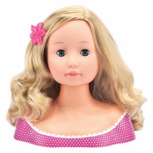 <p>Sada možete testirati svoju vještinu i kreativnost u dizajniranju frizura i šminke. Pletite pletenice, stvarajte šik frizure i budite odvažni u šminkanju. Uz pomoć ove simpatične lutke za šminkanje, svi najmlađi ljubitelji friziranja i šminkanja usv...