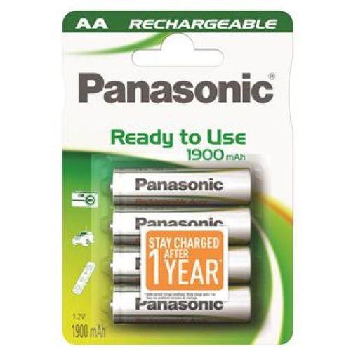 PANASONIC baterije HHR-3MVE/4BC, 1900mAh, punj. Ready to use slika 1