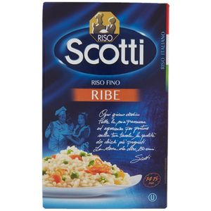 Riso Scotti - RIBE - Riso Classico Bijela dugozrnata riža Zemlja podrijetla: Italija 1 kg