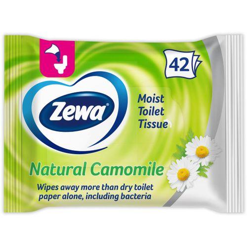 Zewa Toaletni papir vlažni papir natural camomile slika 1