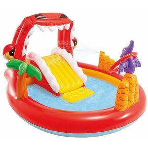 Intex Dino dječji bazen i set za igru 57163NP Dimenzije: 1.96m x 1.70m x 1.07m Dob: 2+