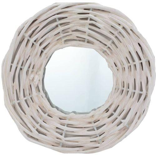 Ogledala od pruća 3 kom bijela 15 cm slika 2