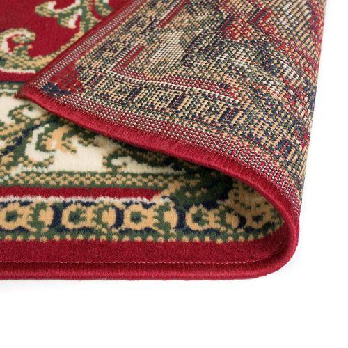 Orijentalni tepih perzijskog dizajna 180 x 280 cm crveni/bež slika 4