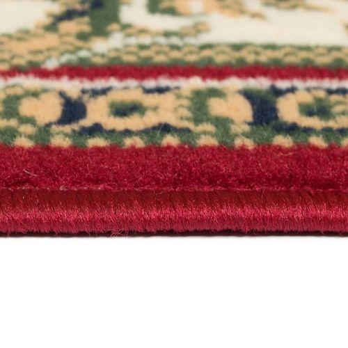 Orijentalni tepih perzijskog dizajna 180 x 280 cm crveni/bež slika 8