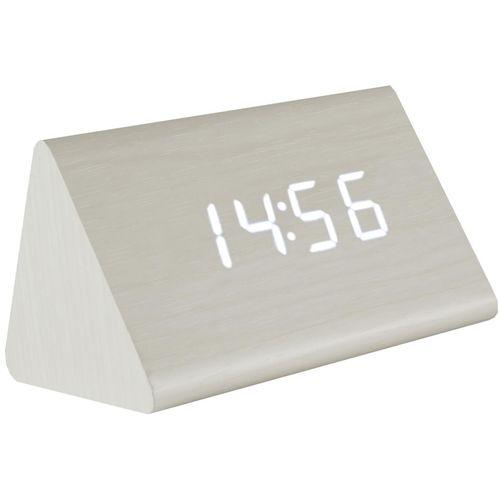 home Sat sa alarmom i termometrom, drveno kućište - OC 03 slika 1