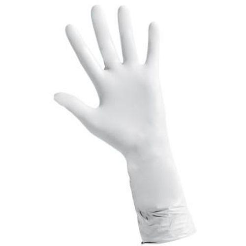 Nitrilne rukavice bez pudera | Biosoft WHITE Extra Long slika 3