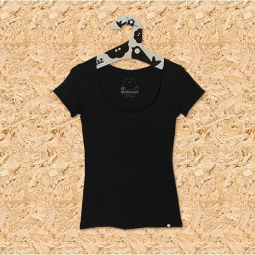 Ženska majica HOLIŠITKA na kratke crna, vel. XL slika 1