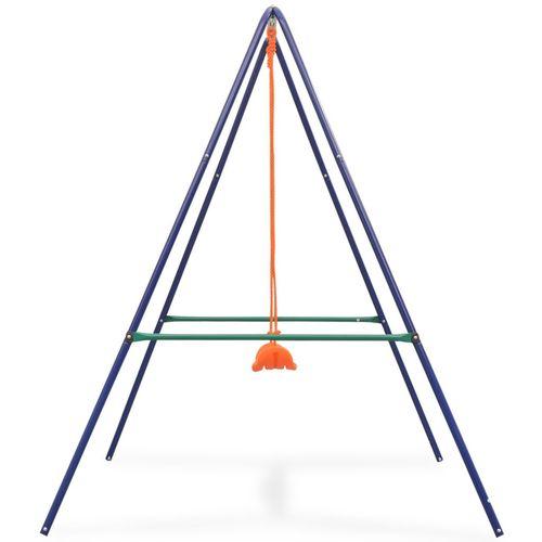 2-u-1 obična ljuljačka i ljuljačka za malu djecu narančasta slika 4