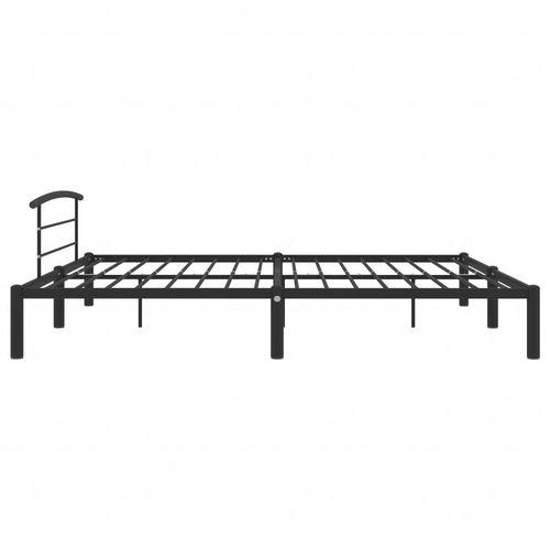 Okvir za krevet crni metalni 180 x 200 cm slika 4