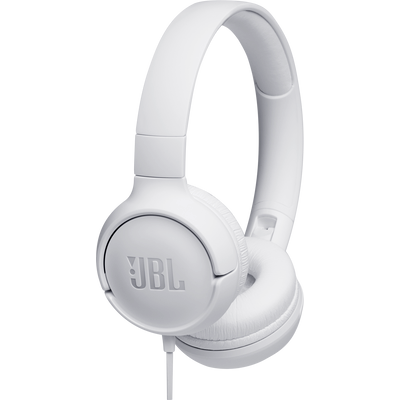 Slušalice s mikrofonom/daljinskim upravljačem, lagani i sklopivi dizajn, JBL Pure Bass zvuk, kabel otporan na petljanje, podrška za Siri i Google Now.