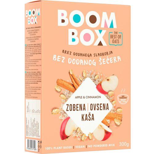 Boom Box Zobena kaša Jabuka-Cimet 300g slika 1