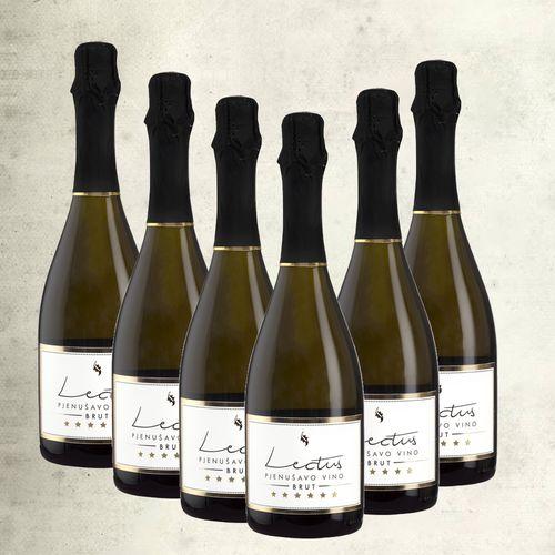 Pjenušac Lectus brut, vrhunsko vino / 6 boca slika 1