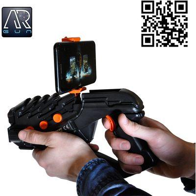 <p></p><p>AR konzola (Augmented Reality) je zabavan gadget koji radi sa vašim pametnim telefonom i služi za igranje mobilnih igara. Preuzmite AR GUN aplikaciju (app store, google play) , spojite AR konzolu putem Bluetootha s pametnim telefonom i akcija...