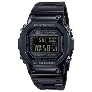 CASIO G-Shock muški sat GMW-B5000GDLTD-1ER jedan je od limitiranih satova iz CASIO kolekcije. Predivan muški sat na kojem dominira crna boja kućišta te crna boja brojčanika. Nehrđajući čelik i crna boja remena doista su odlična kombinacija. Ovaj prekrasan CASIO muški sat pokreće quartz mehanizam.