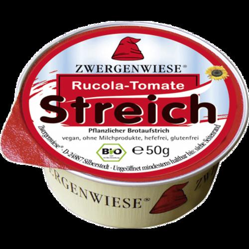 ZWERGENWEISE Pašteta biljna rukola rajčica BIO 50g slika 1