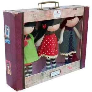 Gorjuss lutke zaludile su skoro cijeli svijet. Zbog iznimno atraktivnih motiva Gorjuss je nezaobilazan motiv svih malih i velikih ljubiteljica ljupkih modnih dodataka. Gorjuss djevojčice u prugastim u svom putnom koferma idealne su za putovanja....