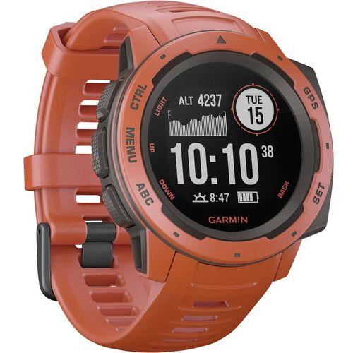 GPS sportski sat Garmin INSTINCT Hellrot/Schiefergrau Svijetlocrvena slika 2