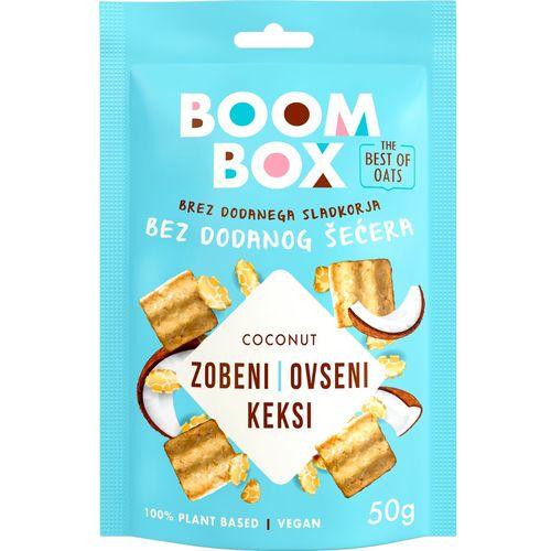 Boom Box Zobeni keksi Kokos 50g slika 1