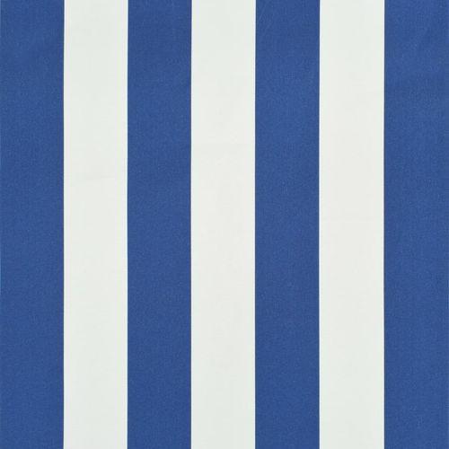 Bistro tenda 200 x 120 cm plavo-bijela slika 2