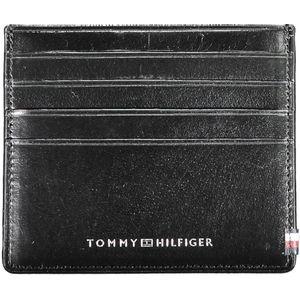 card holders, 1 central pocket, logo