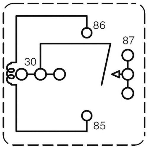 Relej za automobile Zettler Electronics AZ983-1A-12D, ISO, 12V/DC, 80 A, maks. 75 V/DC slika 4