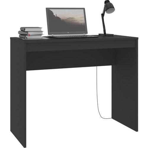 Radni stol sivi 90 x 40 x 72 cm od iverice slika 18