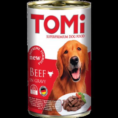 Tomi Hrana za pse konzerva Govedina 1200g slika 1
