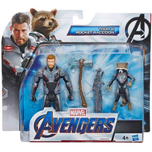Marvel Avengers Thor and Raccoon set figures slika 4