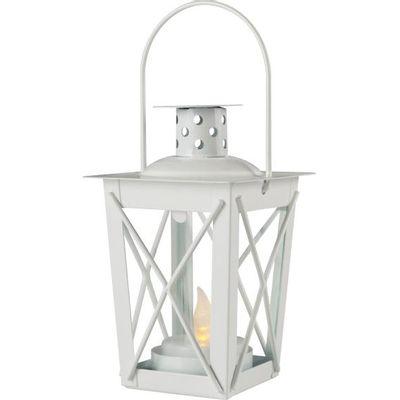Dekorativna LED rasvjeta, interijer, LED svjetlost, svijeća, metalno kućište, sigurnosno staklo, boja bijela