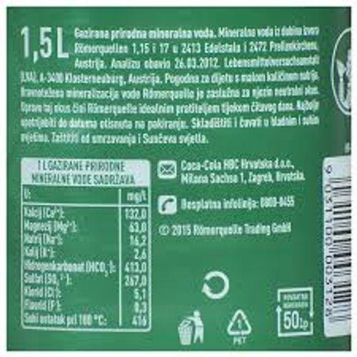 Römerquelle gazirana voda 1,5l  slika 2