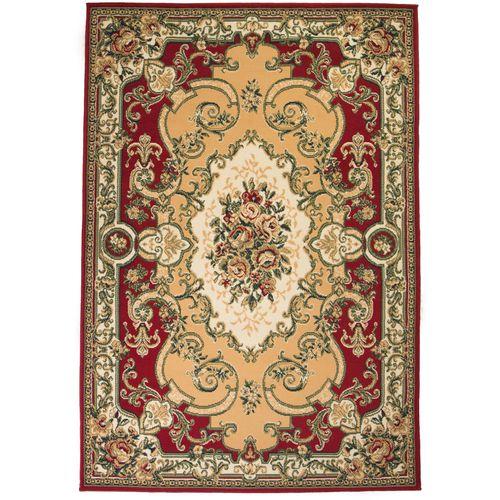 Orijentalni tepih perzijskog dizajna 180 x 280 cm crveni/bež slika 6