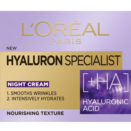 L'Oreal Paris Hyaluron Specialist noćna hidratantna krema za vraćanje volumena 50 ml slika 2