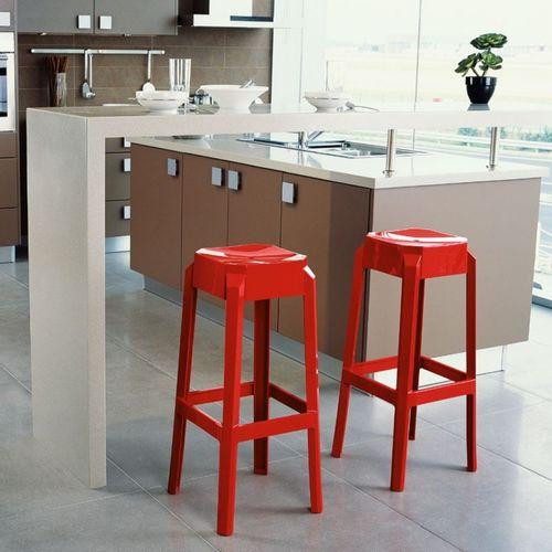 Dizajnerska barska stolica — POLY slika 10