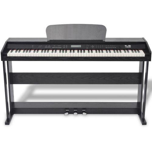 Digitalni klavir s pedalama crnom melaminskom pločom i 88 tipki slika 3