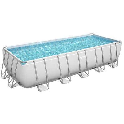 Montažni bazen Power Steel sa filtar pumpom, ljestvama i pokrivačem. Dimenzija 640 x 274 x 132 cm. Kapacitet 19281 litru. Protok vode kroz filtar pumpu: 5678 l / h