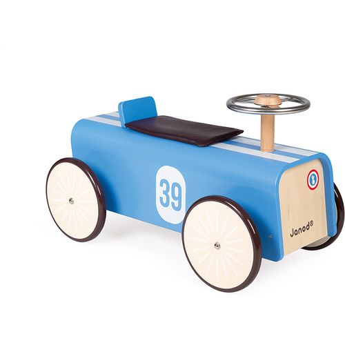 Janod Drvena guralica - automobil slika 1