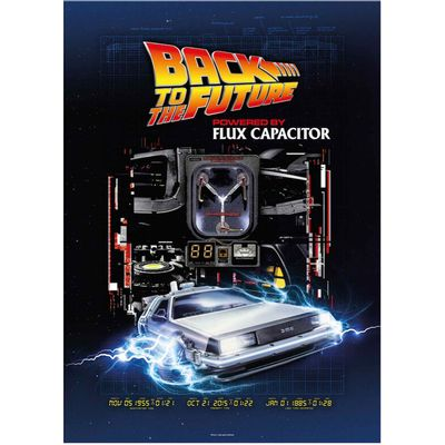 Back to the Future. Size: 70x50cm.