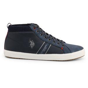 Blue Fall/Winter Men Sneakers