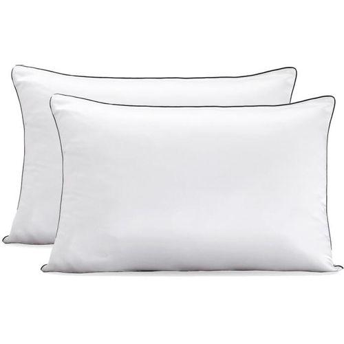 Paket 2 svilene jastučnice 60x80 bijele slika 1