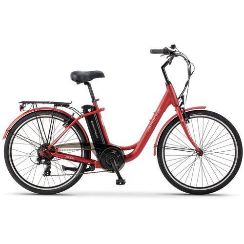 """Apache električni bicikl Tanka 10 Crvena 26"""" 18"""" Okvir slika 1"""