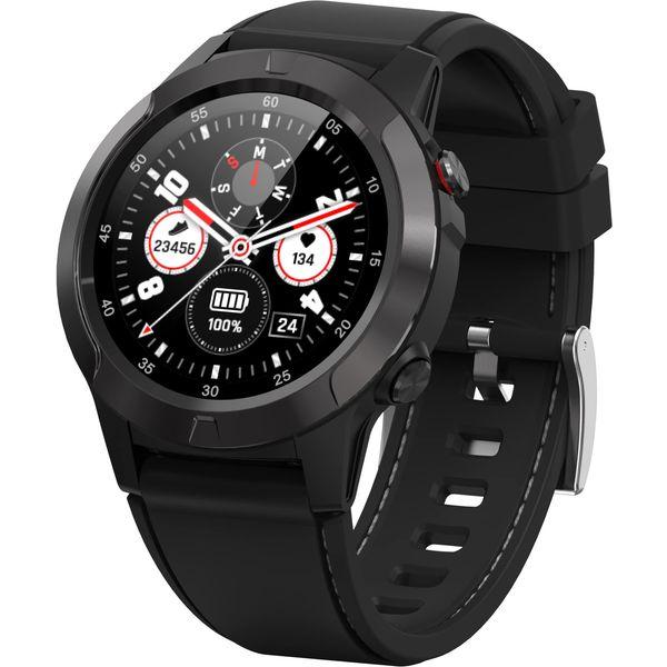 OQ Active najnoviji je model GPS sportskog sata. Odličan za praćenje svih tjelesenih aktivnosti i osnovnih zdrastvenih parametera, a vizualno moćnog robustnog izgleda. Osim primanja poruka moguće je također i praviti pozive te nesmetano razgovarati putem vašeg sata za samo nekoliko sekundi uz vrlo dobru kvalitetu zvuka.  Čvrst, robustan, ali vrlo modernog dizajna i lagan, izrađen je od kvalitetnih materijala  i odlično stoji na ruci. Automatsko snimanje aktivnosti (hodanje, daljina, trčanje) i ugrađeni GPS omogućavaju kvalitetno mjerenje svih tjelesnih aktivnosti.  Odličan izbor za sve one koji uživaju u aktivnom životu, vole sport i rekreaciju te žele biti u korak sa novim trendovima.